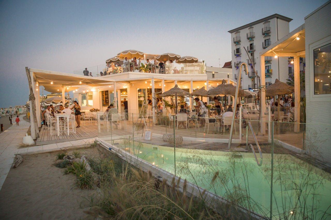 Stabilimento balneare con parcheggio auto rimini | Belaburdela bagni 70-71 Torre Pedrera